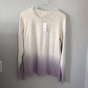 Lou & Grey pullover sweater NWT
